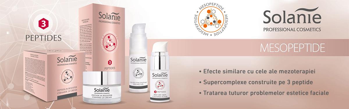 MezoPeptide Solanie: Nou concept în îngrijirea faciala