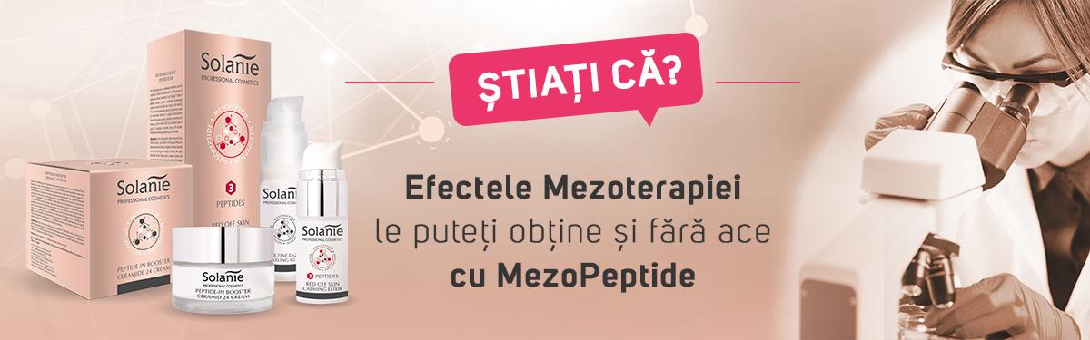 Știați că? Efectele Mezoterapiei le puteți obține și fără ace cu MezoPeptide